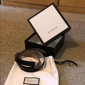 Gucci Caged GG Marmont Belt